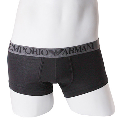 -EMPORIO ARMANI- 88701 Strech Cotton Trunk (M-Black)