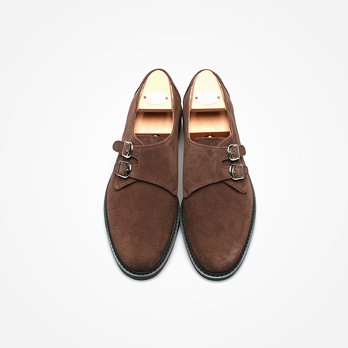 94790 Premium FA-200 Monk strap Shoes (2Color)