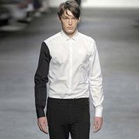 72470 프리미엄 언밸런스 소매 셔츠 (White)