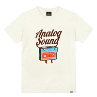 - THE SHIRTS -79671 analog_sound 라운드 반팔 티셔츠 (4Color)