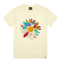 - THE SHIRTS -79677 daisy 라운드 반팔 티셔츠 (3Color)