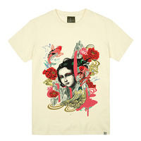 - THE SHIRTS -79683 oriental_song 라운드 반팔 티셔츠 (3Color)