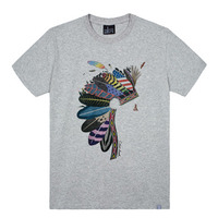 - THE SHIRTS -79697 indian 라운드 반팔 티셔츠 (3Color)