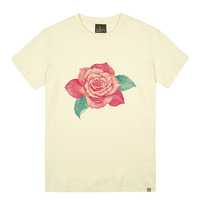 - THE SHIRTS -79699 pink_rose 라운드 반팔 티셔츠 (3Color)