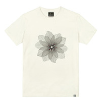 - THE SHIRTS -79704 snow_flower 라운드 반팔 티셔츠 (3Color)