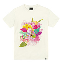 - THE SHIRTS -79707 floweriness 라운드 반팔 티셔츠 (3Color)