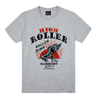 - THE SHIRTS -87828 high roller 라운드 반팔 티셔츠 (3Color)