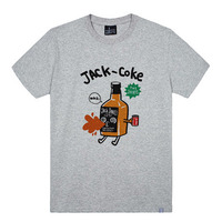 - THE SHIRTS -87834 jack coke 라운드 반팔 티셔츠 (3Color)