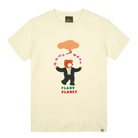 - THE SHIRTS -87836 planet bear 라운드 반팔 티셔츠 (3Color)