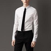 89021 B London 프리미엄 솔리드 셔츠 (White/2Type)