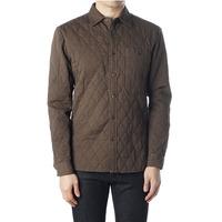 89361 원 포켓 퀼팅 셔츠 (Brown)