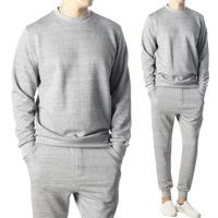 90453 AL 미니멀 맨투맨 티셔츠 (Gray)