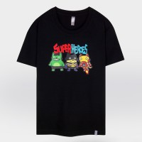 - THE SHIRTS -91268 little heroes 반팔 티셔츠 (3Color)