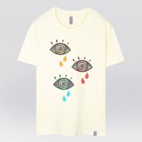 - THE SHIRTS - 91271 three eye 반팔 티셔츠 (3Color)