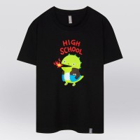 - THE SHIRTS -91272 highschool green 반팔 티셔츠 (2Color)