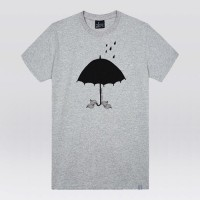 - THE SHIRTS -91416 umbrella leaf 반팔 티셔츠 (3Color)