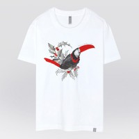 - THE SHIRTS -91417 Toucan 반팔 티셔츠 (2Color)