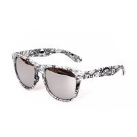 -OM- 91520 트라이벌 미러 선글라스 UV400 (White)
