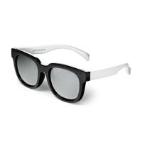 -OM- 91984 스테판 미러 선글라스 UV400 (Black+White)