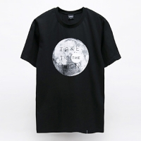 - Black Skull -92003 take to the moon 반팔 티셔츠 (2Color)