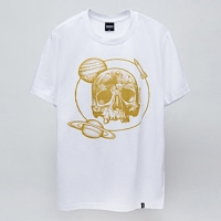 - MONKEYBOB-92030 space skull 반팔 티셔츠 (2Color)