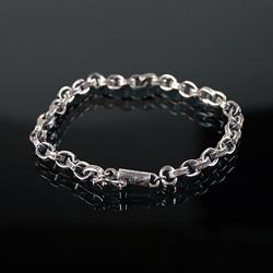 92737 CH 서클 체인 클립 팔찌 (Silver)