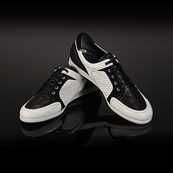 57355 No.4756 modern style leather Sneakers (4color)