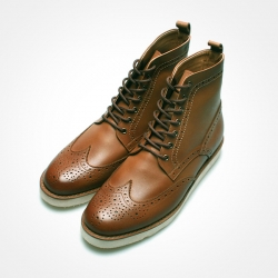83091 Premium FA-070 Shoes (Oil Brown)