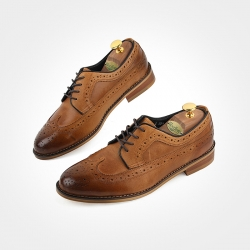 85237 HM-KS042 Shoes (Tan Brown)
