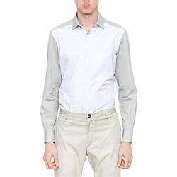 90894 LA 배색 셔츠 (Gray)
