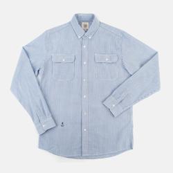 93026 스트라이프 셔츠 (Sky Blue)