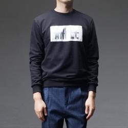 92581 샤이닝 엔젤 나염 맨투맨 티셔츠 (3Color)
