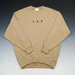 93831 JOY 자수 맨투맨 티셔츠 (3Color)