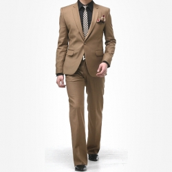 70124 No.356 프레셔스 로얄 라인 원버튼 자켓 (Dark beige)