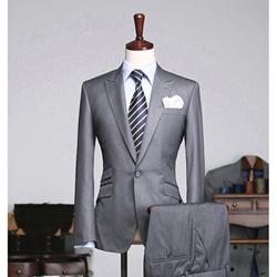 72281 no.003 컬렉션 라인 원버튼 3포켓 호시 자켓 (Gray)