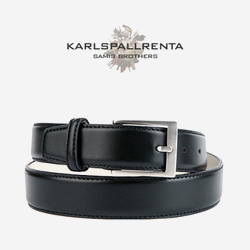 -K.S- 83836 italy real leather 리얼태닝 클래식 벨트 (Black)