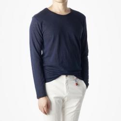 91154 베이직 슬라브 긴팔 티셔츠 (4Color)