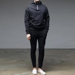 94518 피그먼트 집업 아노락 후드 트레이닝 세트 (Black)