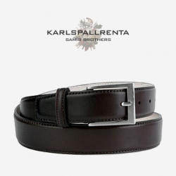 -K.S- 84209 italy real leather  리얼태닝 클래식 벨트 (Dark Brown)