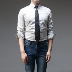 94763 베이직 스트라이프 셔츠 (4Color)