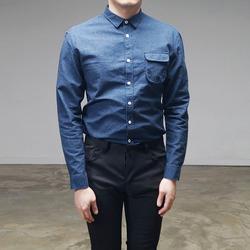 95001 베이직 톤다운 칼라 셔츠 (2Color)