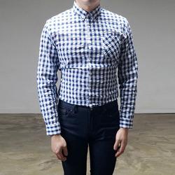 95062 시어서커 깅엄체크 셔츠 (2Color)