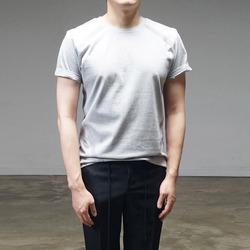 95090 절개 테이핑 하프슬리브 티셔츠 (2Color)