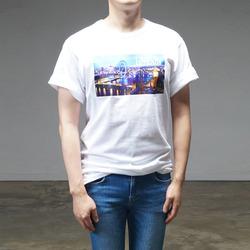 95238 시트 로케이션 나염 하프슬리브 티셔츠 (2Color / 3Type)