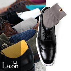 -La:on-95358 Solid Color Socks (6Color)