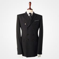 95381 프리미엄 더블 자켓 (Black)