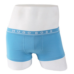 -HUGO BOSS- 87913 Stretch Cotton Boxer Shorts Trunk (Sky)