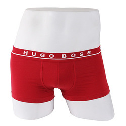 -HUGO BOSS- 87914 Stretch Cotton Boxer Shorts Trunk (Rose)