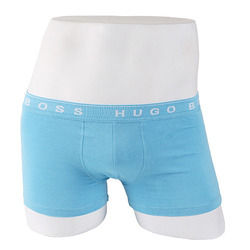 -HUGO BOSS- 87920 Cotton Boxer Shorts Trunk (Sky)