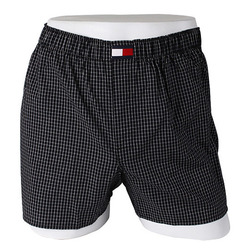 -Tommy Hilfiger- 88139 Cotton Trunk (Black)